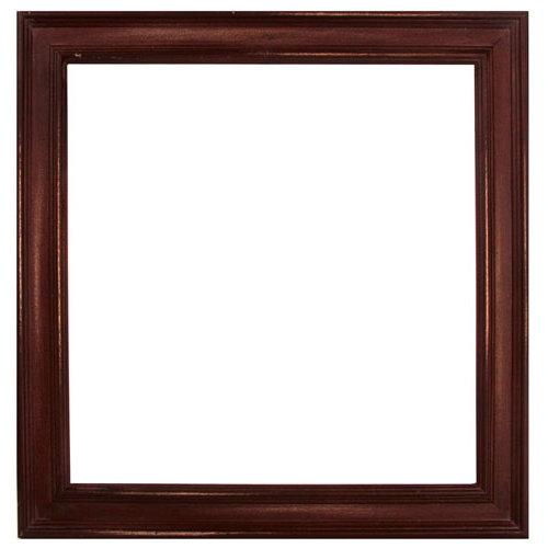 Prima - 12 x 12 Wood Frame - Antique Brown
