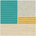 Prima - Alla Prima Collection - Cardstock Stickers - Alphabet - Typeset