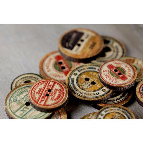 Prima - Toggle - Wood Buttons - Bobbin
