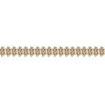 Prima - Ornamental Edging Collection - Trim - Gold - 18 Yards