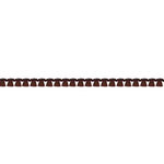 Prima - Ornamental Edging Collection - Trim - Tassel - Brown - 18 Yards