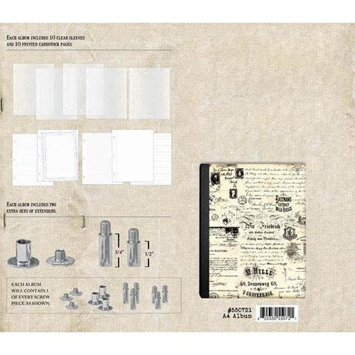 Prima - Postbound Scrapbook Album - A4