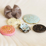 Prima - Pixie Glen Collection - Vintage Buttons