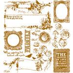 Prima - Pixie Glen Collection - Flocked Rub Ons