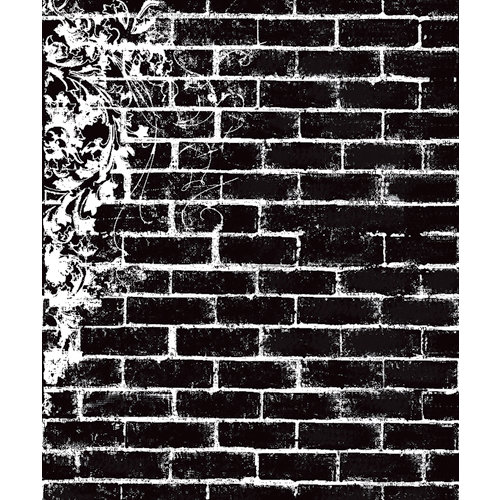 Prima - Clear Acrylic Stamps - Brick 2