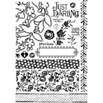 Prima - Alla Prima Collection - Cling Mounted Rubber Stamps