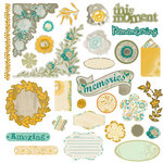Prima - Alla Prima Collection - Chipboard Stickers