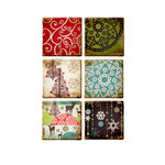 Prima - North Country Collection - Christmas - Art Tiles
