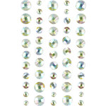 Prima - Say It In Crystals Collection - Self Adhesive Jewel Art - Bling - Crystals - Mix 17