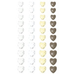 Prima - Say It In Crystals Collection - Self Adhesive Jewel Art - Bling - Crystals Hearts - Mix 5