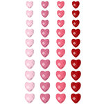 Prima - Say It In Crystals Collection - Self Adhesive Jewel Art - Bling - Crystals Hearts - Mix 6