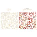 Prima - Romantique Collection - Resist Canvas - Shapes