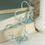 Prima - Amore Collection - Heart Embellishments - Aqua