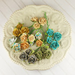Prima - Avon Rose Collection - Mulberry Flower Embellishments - Alla Prima