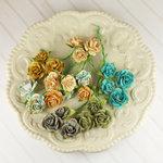 Prima - Avon Rose Collection - Mulberry Flower Embellishments - Alla Prima