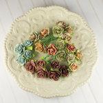 Prima - Avon Rose Collection - Mulberry Flower Embellishments - Romantique