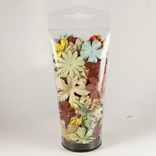 Prima - Essentials 11 Collection - Flower Embellishments - Romantique