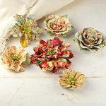 Prima - Jardinere Collection - Mulberry Flower Embellishments - Romantique