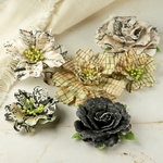 Prima - Jardinere Collection - Mulberry Flower Embellishments - Printery