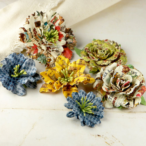 Prima - Jardinere Collection - Mulberry Flower Embellishments - Londonerry