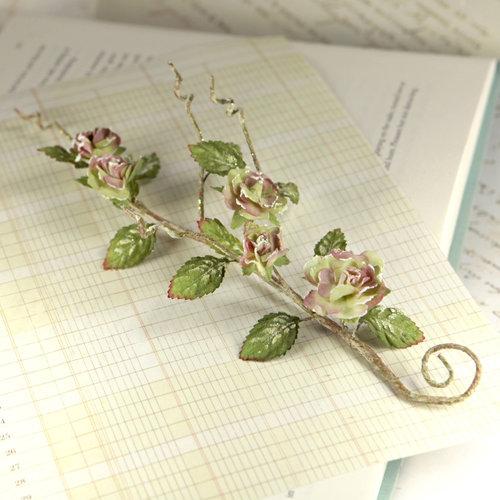 Prima - Bretton Vines Collection - Flower Embellishments - Alyssa