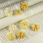 Prima - Gillian Collection - Flower Embellishments - Lemon