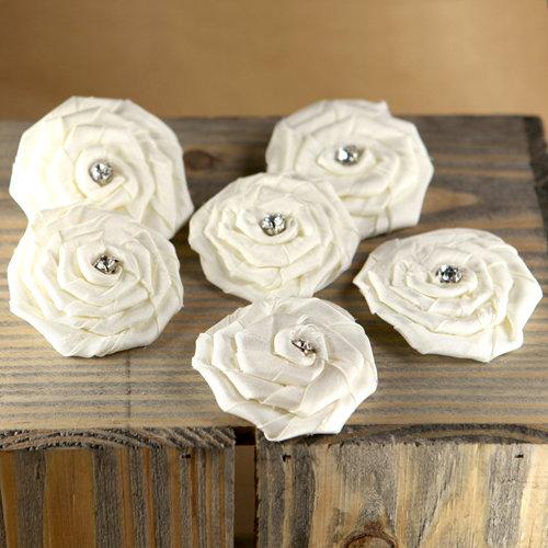 Prima - Allure Collection - Fabric Flower Embellishments - Aurora