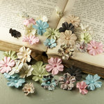 Prima - Flower Market Collection - Mulberry Flower Embellishments - Pixie Glen