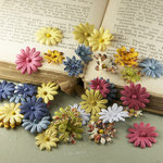 Prima - Flower Market Collection - Mulberry Flower Embellishments - Londonerry
