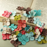 Prima - Flower Market Collection - Mulberry Flower Embellishments - North Country