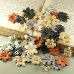 Prima - Flower Market Collection - Mulberry Flower Embellishments - Printery
