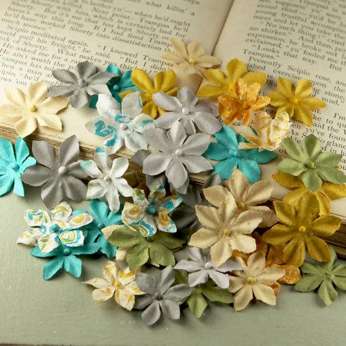 Prima - Flower Market Collection - Mulberry Flower Embellishments - Alla Prima