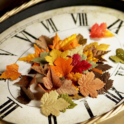 Prima - Splendor Collection - Leaves Embellishments - Fall