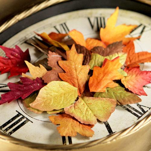 Prima - Splendor Collection - Leaves Embellishments - Autumn