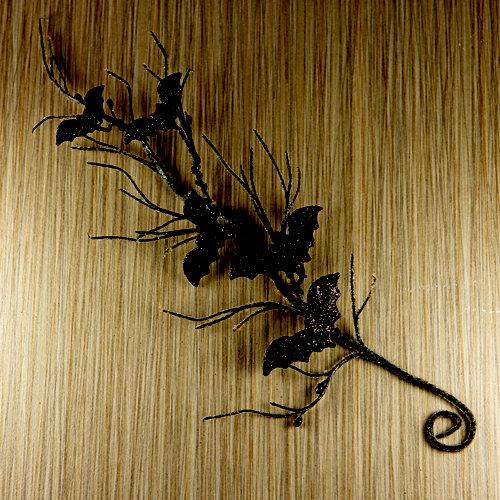 Prima - Trick or Treats Collection - Halloween - Vine Embellishments - Bat Vine