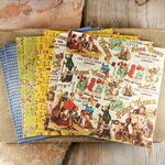 Prima - Londonerry Collection - 6 x 6 Mulberry Paper Pack