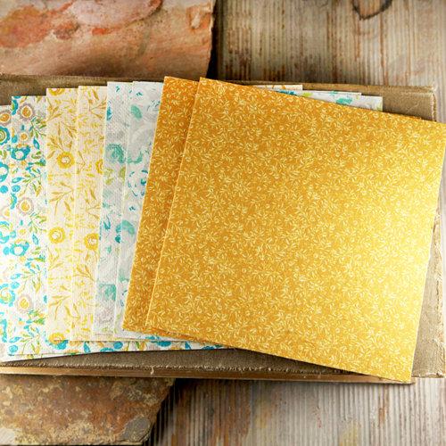Prima - Alla Prima Collection - 6 x 6 Mulberry Paper Pack