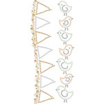 Prima - Say It In Crystals and Pearls Collection - Self Adhesive Jewel Art - Bling - Songbird - Mix 2