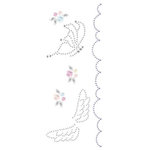 Prima - Say It In Crystals Collection - Self Adhesive Jewel Art - Bling - Meadow Lark - Mix 4