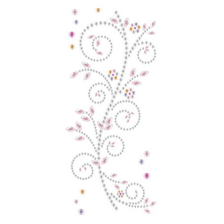 Prima - Say It In Crystals Collection - Self Adhesive Jewel Art - Bling - Meadow Lark - Mix 1