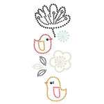 Prima - Say It In Pearls Collection - Self Adhesive Jewel Art - Bling - Doodle-Deux - Mix 1