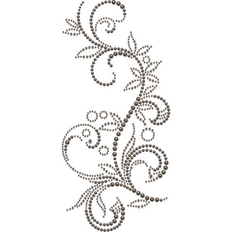 Prima - Say It In Crystals and Pearls Collection - Self Adhesive Jewel Art - Bling - Nature Garden - Mix 1