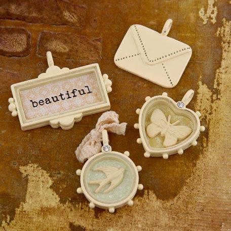Prima - Songbird Collection - Trinkets - Metal Embellishments