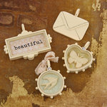 Prima - Songbird Collection - Trinkets - Metal Embellishments