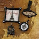 Prima - Tiny Treasures Collection - Precious Metal Embellishments - En Francais