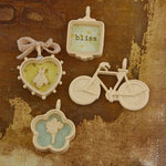 Prima - Sun Kiss Collection - Trinkets - Metal Embellishments