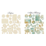 Prima - Doodle-Deux Collection - Resist Canvas - Koolio Shapes