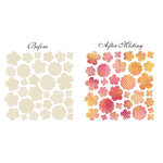 Prima - Sun Kiss Collection - Resist Canvas - Flowers Shapes