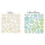 Prima - Resist Canvas - Shapes - Flowers 3