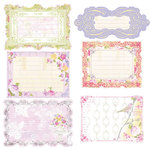 Prima - Meadow Lark Collection - Journaling Notecards